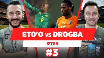 Samuel Eto'o vs Didier Drogba