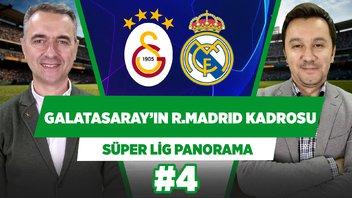 Galatasaray'ın Real Madrid maçı kadrosu nasıl olur?