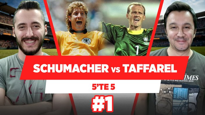 Schumacher vs Taffarel | Pepe vs Lugano
