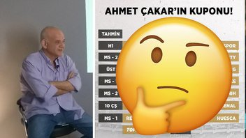 Ahmet Çakar'dan haftanın tahminleri! 1'e 11 veren banko kupon! ⚽️️