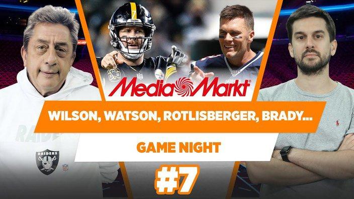 NFL'de Quarterback haberleri: Wilson, Watson, Rothlisberger ve Brady | Murat Murathanoğlu | GN #7