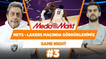 Brooklyn Nets - Lakers Maçı & Davis'in Sakatlığı… | Murat Murathanoğlu & Sinan Aras | Game Night #3