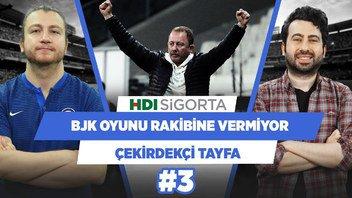 Beşiktaş'ın oyunun hakimiyetini rakibine verdiği süre az | Mustafa Demirtaş | Çekirdekçi Tayfa #3