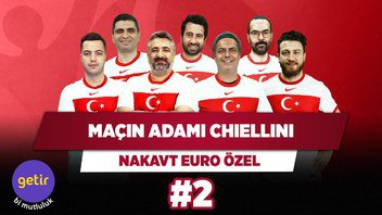 Maçın adamı büyük kaptan Chiellini   Serdar Ali Ç. & Ali Ece & Uğur K. & Yağız S.   Nakavt #2