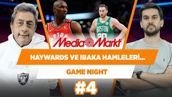 Haywards - Hornets & Ibaka - Clippers Hamleleri... | Murat Murathanoğlu & Sinan Aras | Game Night #4