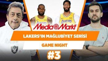 Lakers'ın mağlubiyet serisi ve kadro derinliği endişe verici... | Murat Murathanoğlu & Sinan Aras #3